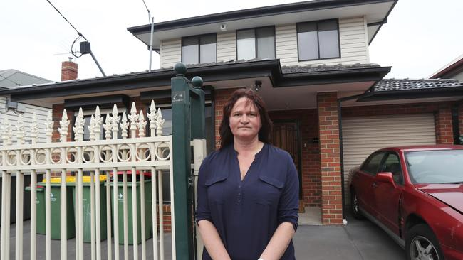 Kelly's Airbnb house in Footscray was trashed by a wild party. Picture: David Crosling