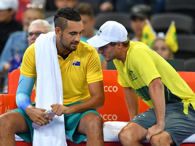 Nick Kyrgios has impressed his coach.