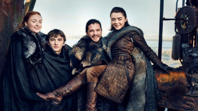 The Stark children will obviously not be in the prequel. Sob. Photo: Entertainment Weekly
