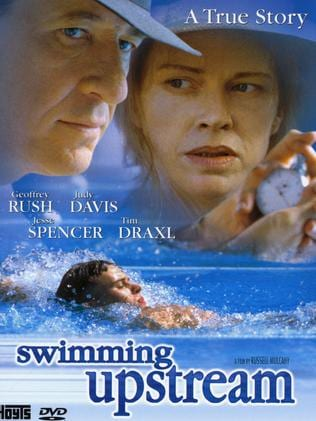 Judy Davis and actor Geoffrey Rush have starred together in several films, including Swimming Upstream.