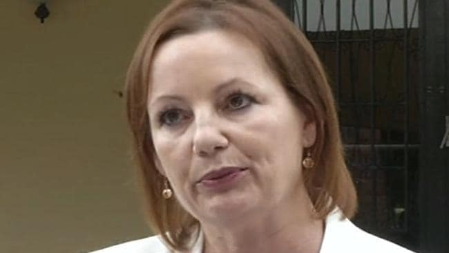 Sussan Ley fronts the media