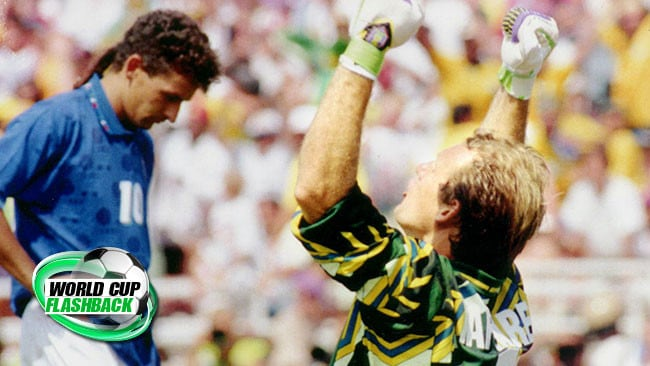 da1dd9f77df World Cup Great Moments: Roberto Baggio's career-defining penalty disaster  in 1994 final