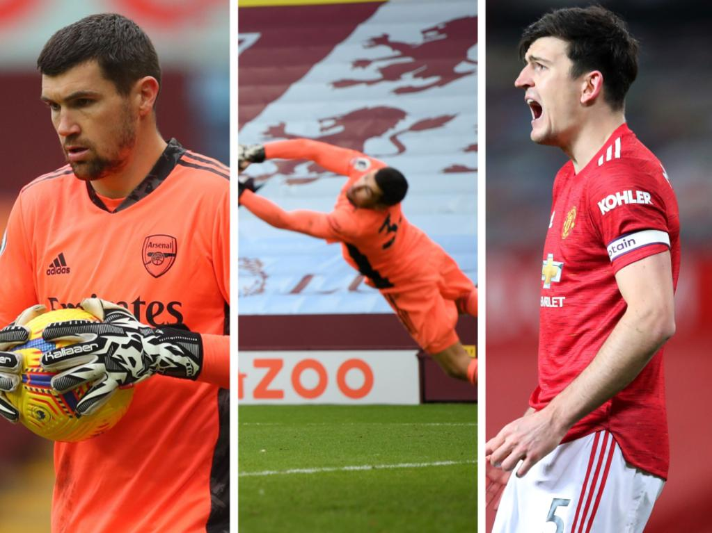 Mat Ryan performed well despite a nightmare start to life at Arsenal.