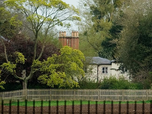 A general view of Frogmore Cottage. Picture: Getty