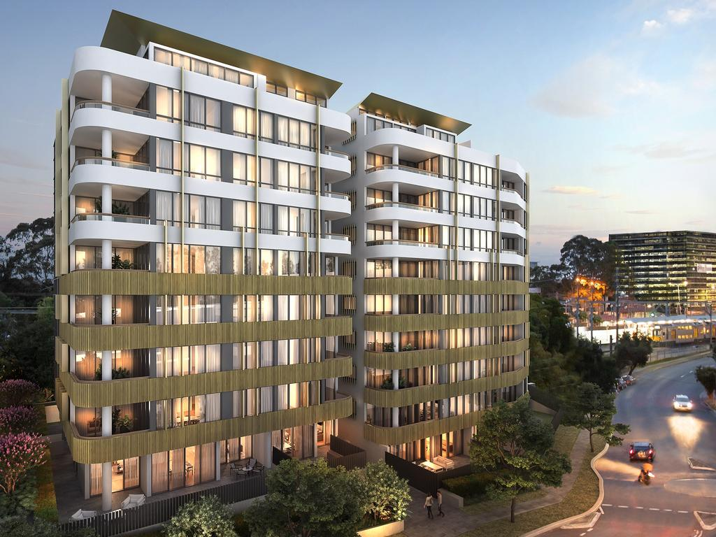 Billbergia's $150m development called Lidcombe Rise in Church St, Lidcombe.