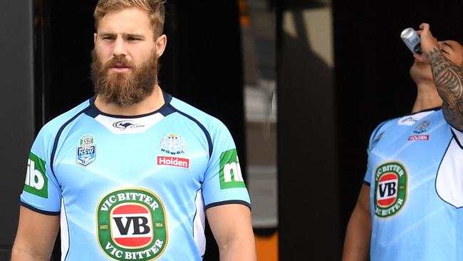 NSW shadow player Jack De Belin faces a one week ban.