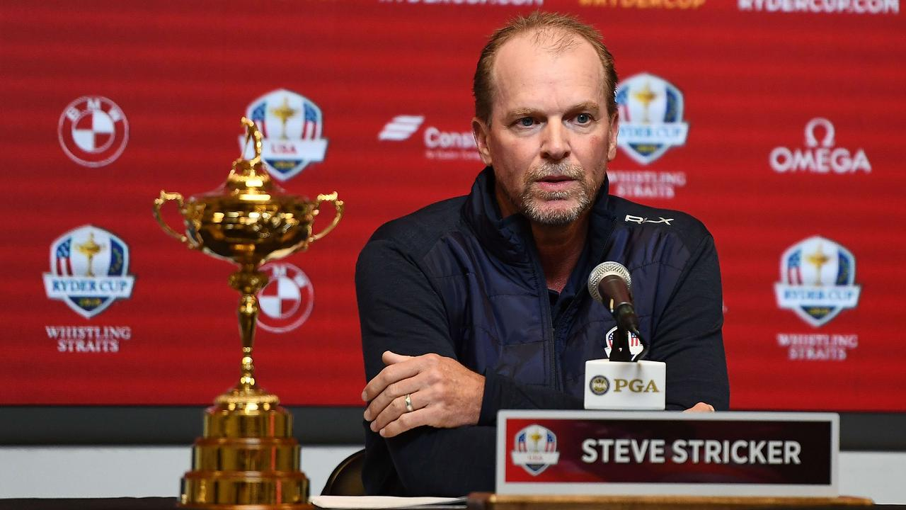 Steve Stricker after being named United States Ryder Cup Captain for 2020.