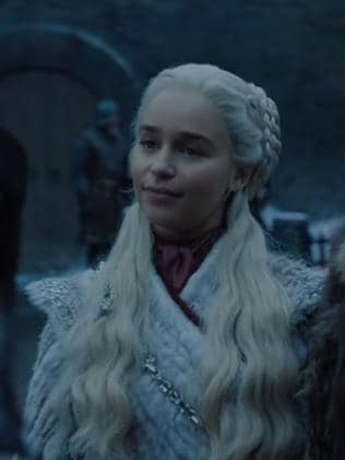 Game of Thrones releases new season 8 footage showing Daenerys meeting Sansa. Picture: HBO