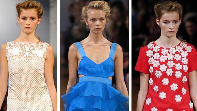 Collette Dinnigan's Paris Fashion Week 2014 collection.