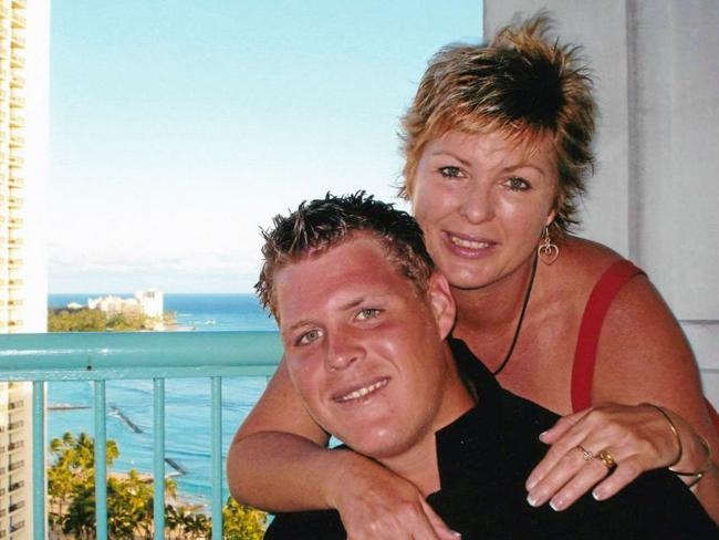 Sandra McGivern, tried to help her son Angus (pictured) but he died of a fentanyl addiction.
