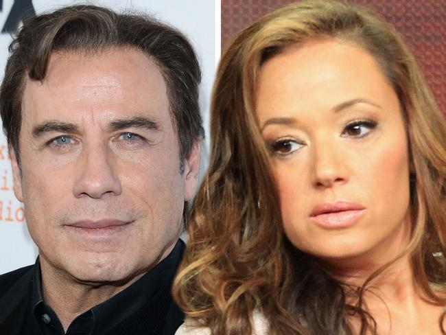 Leah Remini fled the scene to avoid having to give her two cents on Travolta's infamous stinker. Picture: Getty