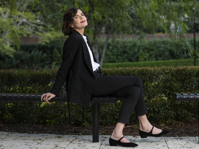 Downton Abbey star Elizabeth McGovern in Sydney to promote her latest film The Chaperone. Picture: Darren Leigh Roberts