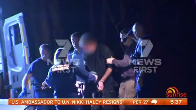 Three men have been arrested after two women and boys were 'kidnapped' from a NSW property (Sunrise)