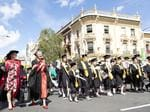 Town and Gown at the UTAS Graduation, Launceston. PICTURE CHRIS KIDD