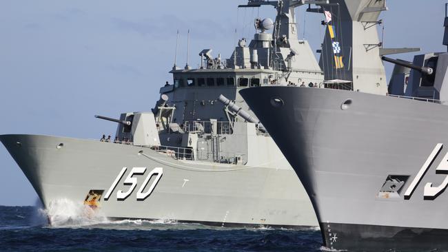 South China Sea: Australian warships challenged by China