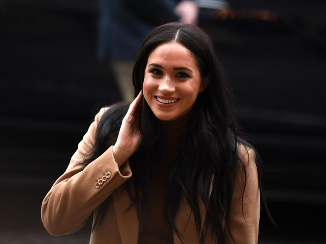 "The Duke and Duchess of Sussex spent an extended Christmas break in Canada with their baby son Archie, before returning to break the news that they wanted to ""step back"" from their roles as senior members of the Royal family. Picture: Daniel Leal-Olivas"