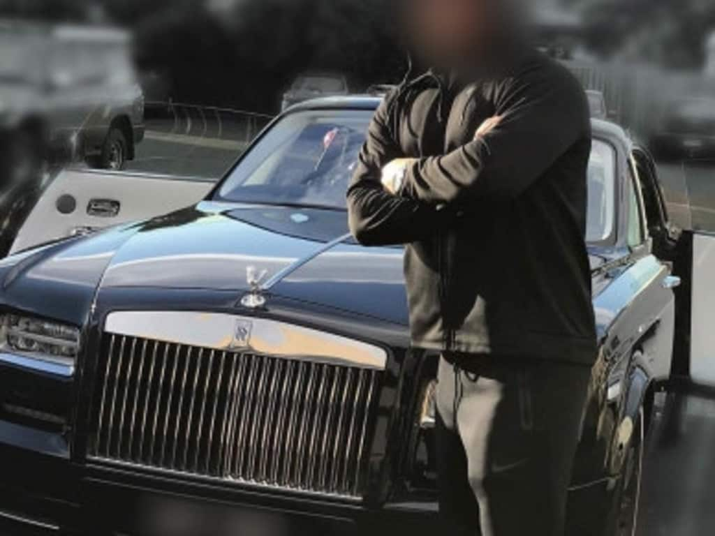 Mr Antonopoulos' Rolls-Royce, described as a Phantom Coupe Zenith Edition, the only one in Australasia and one of 50 in the world. Picture: Supplied