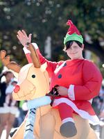 2018 Adelaide Credit Union Christmas Pageant - Isaac May, 15. Photo Naomi Jellicoe