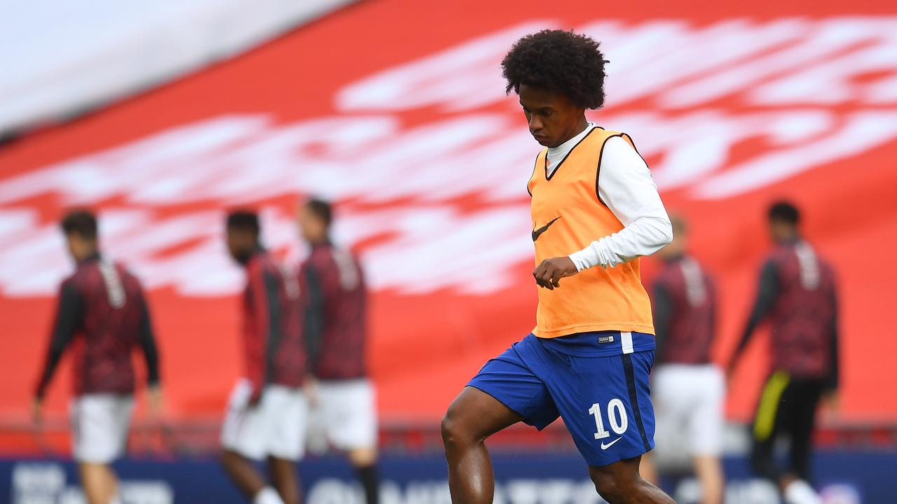 Willian has his pick of five clubs.