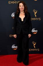 Lili Taylor arrives at the 68th Primetime Emmy Awards on Sunday, Sept. 18, 2016, at the Microsoft Theater in Los Angeles. (Photo by Jordan Strauss/Invision/AP)