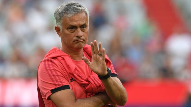 Manchester United boss Jose Mourinho is favourite to be first manager sacked this season.