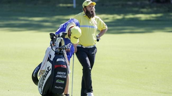 Andrew Johnston had his share of troubles on day one.