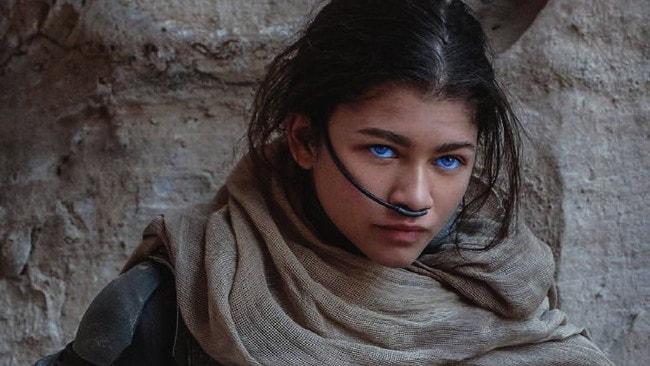 Zendaya plays a character called Chani, part of the Freman people on Arrakis