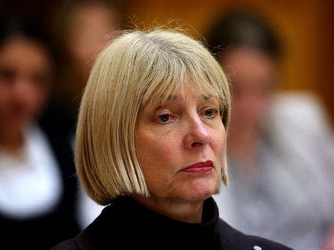 Aurora Andruska, former ASADA chief executive, was replaced by Ben McDevitt in May 2014. Picture: Kym Smith