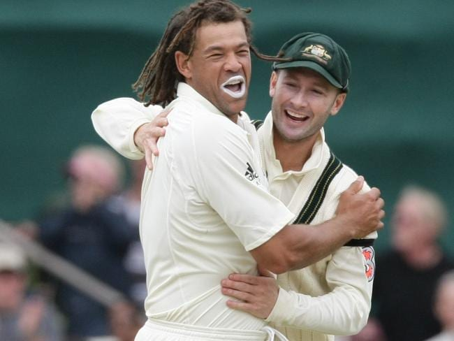 There was a time when Symonds and Clarke were close friends.