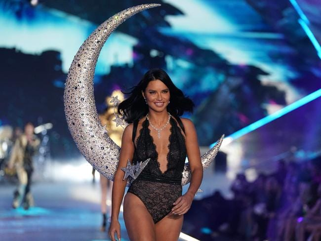 "She has been the lingerie giant's longest-serving ""Angel"". Picture: AFP"