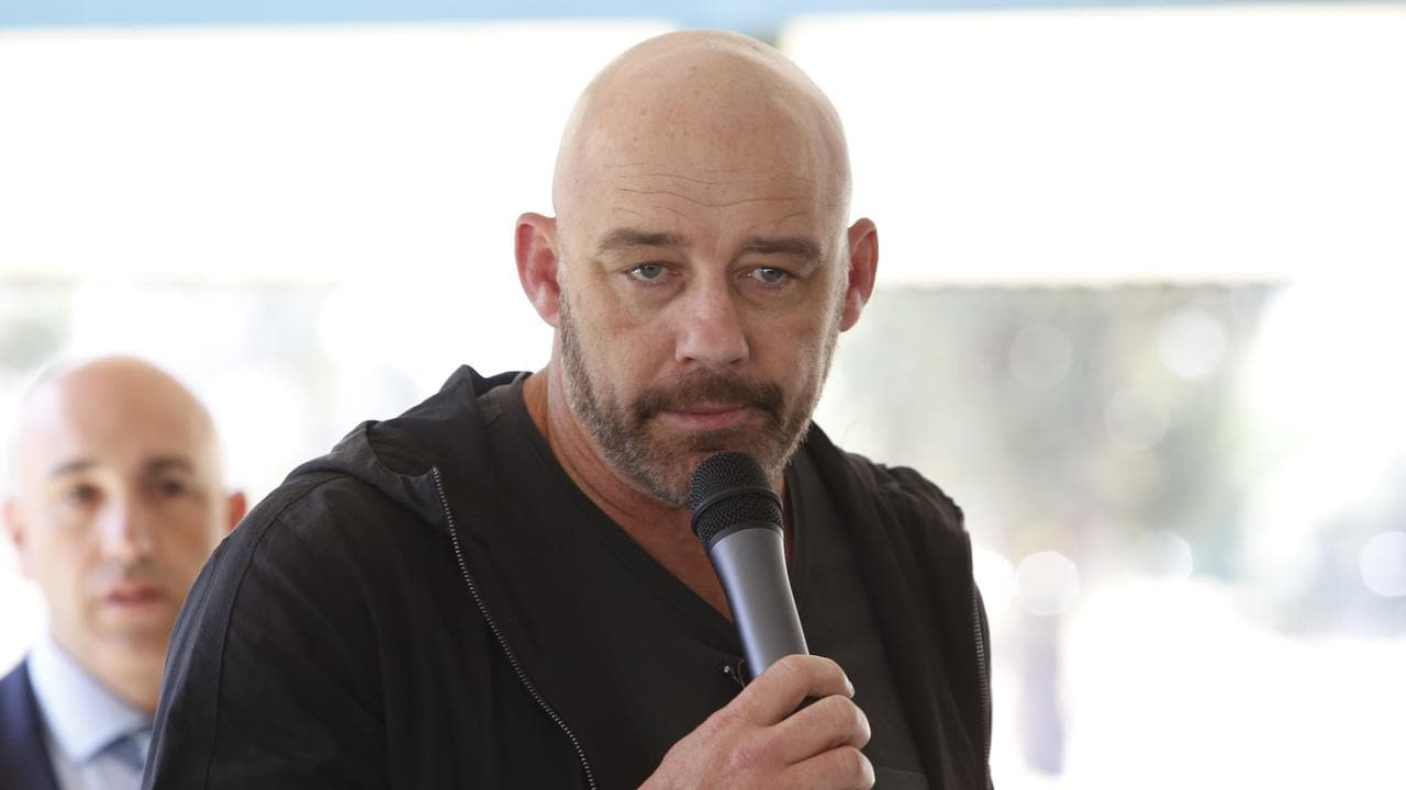 Mark Geyer and his family were left devastated by a rumour posted on an NRL Facebook page.