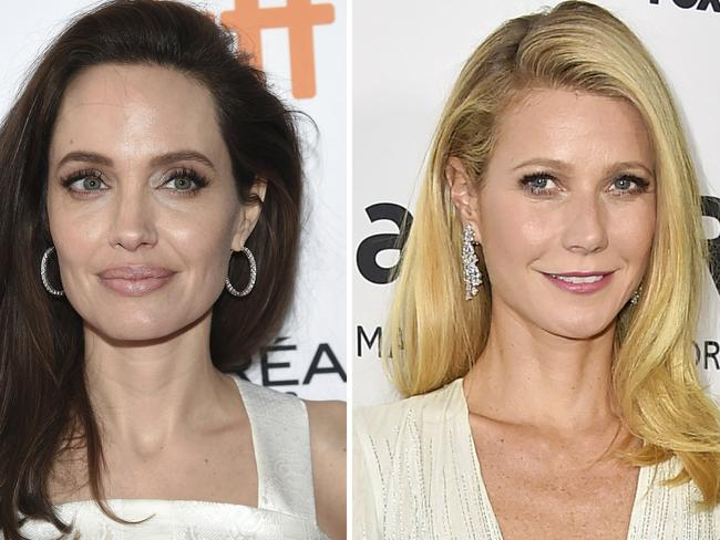 Angelina Jolie and Gwyneth Paltrow have accused Harvey Weinstein of sexual harassment. Picture: AP