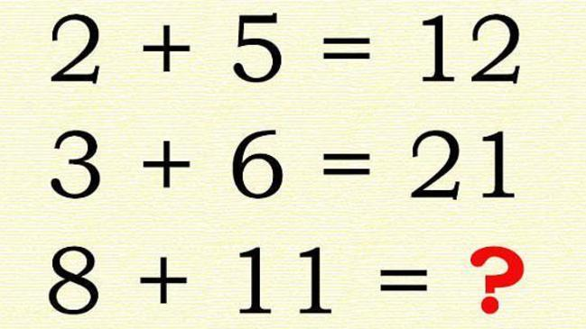 Maths quiz online: Are you smart enough to find two answers?