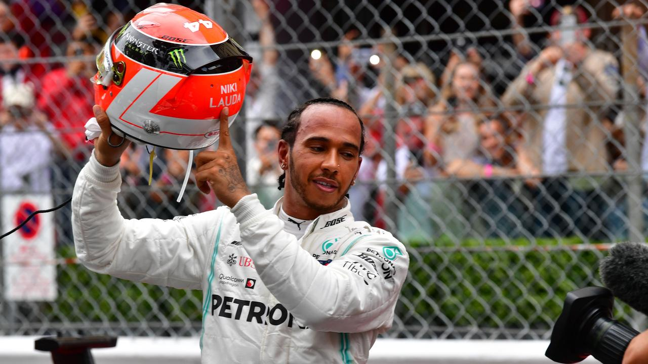 Lewis Hamilton paid tribute to the late Niki Lauda after winning the Monaco Grand Prix.
