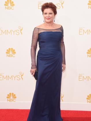 Kate Mulgrew attends the 66th Annual Primetime Emmy Awards.