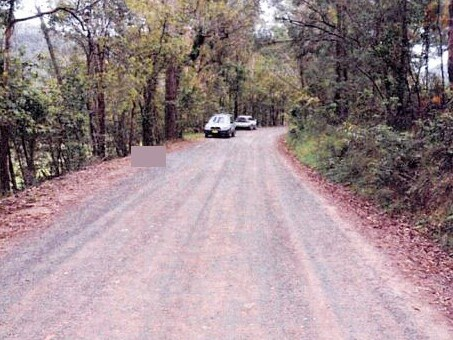 The body of Brett was dumped on the side of the road in bushland at Greengrove on t he Central Coast