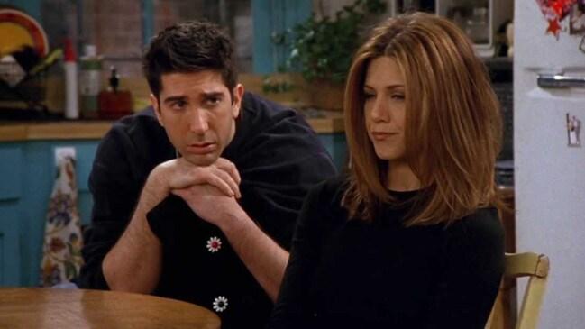 Ross and Rachel's excruciating breakup scene.