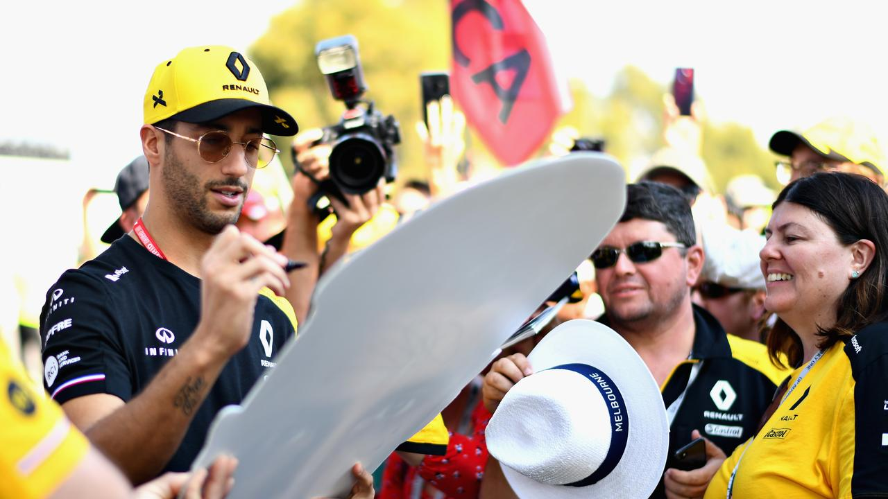 Daniel Ricciardo looked exhausted by the time the race was finished on Sunday evening.