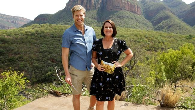 Chris Brown and Julia Morris are ready for the latest season.