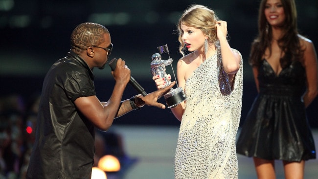 Kanye West is just one of the people that Taylor Swift is feuding with. Photo: Getty