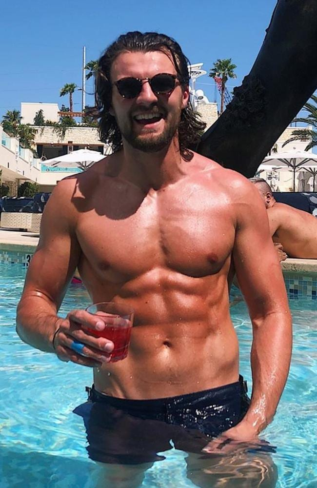 Gold Coast real estate agent Eoghan Murphy is starring on the 2019 season of Love Island Australia. Picture: Instagram.