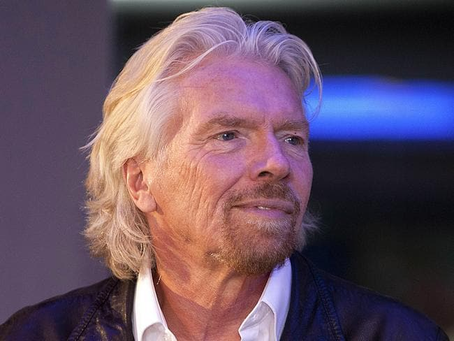 British billionaire Richard Branson announced he has frozen business links with Saudi Arabia. Picture: AP Photo/Abraham Caro Marin