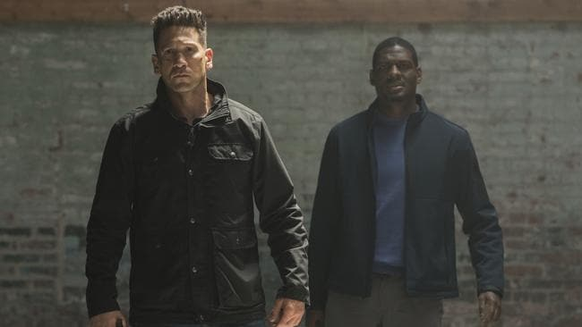 The Punisher: An angry guy with no purpose