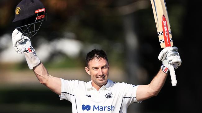 Shaun Marsh made another century for Western Australia. Picture: Daniel Kalisz / Getty Images