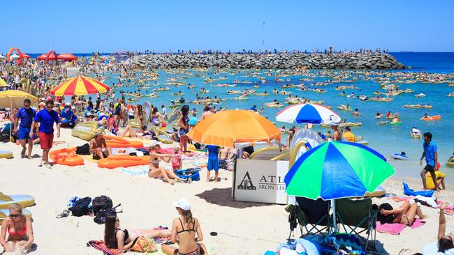 Cottesloe Beach will be busy this week.