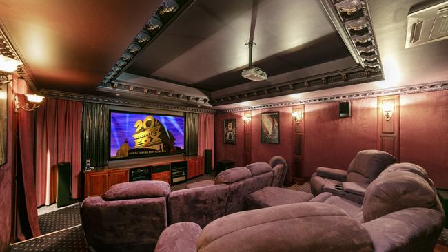A home theatre is also part of the package.