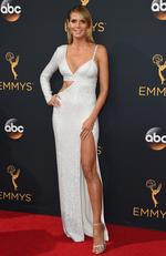 Heidi Klum attends the 68th Annual Primetime Emmy Awards on September 18, 2016 in Los Angeles, California. Picture: AP