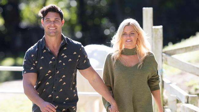Apollo was a popular contestant on Sophie Monk's season of The Bachelorette. Picture: Ten