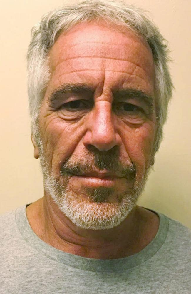 Jeffrey Epstein pleaded not guilty in federal court in New York on Monday, July 8, 2019, to sex trafficking charges following his arrest. Picture: New York State Sex Offender Registry via AP.