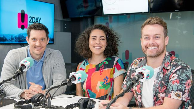 Ed Kavalee, Ash London and Grant Denyer were recently dropped form the 2Day FM breakfast slot.